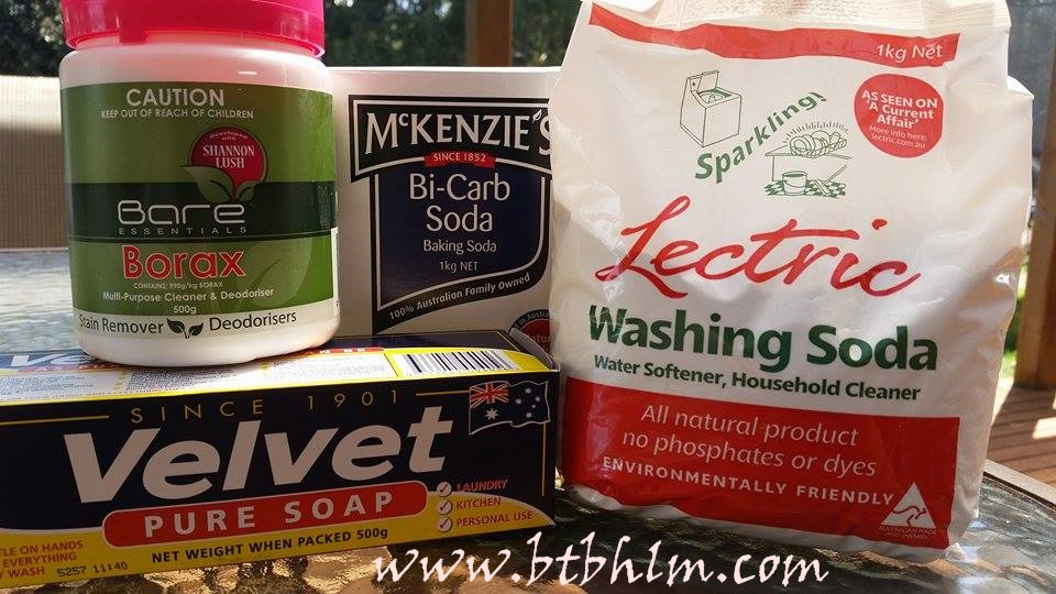 Washing Powder DIY