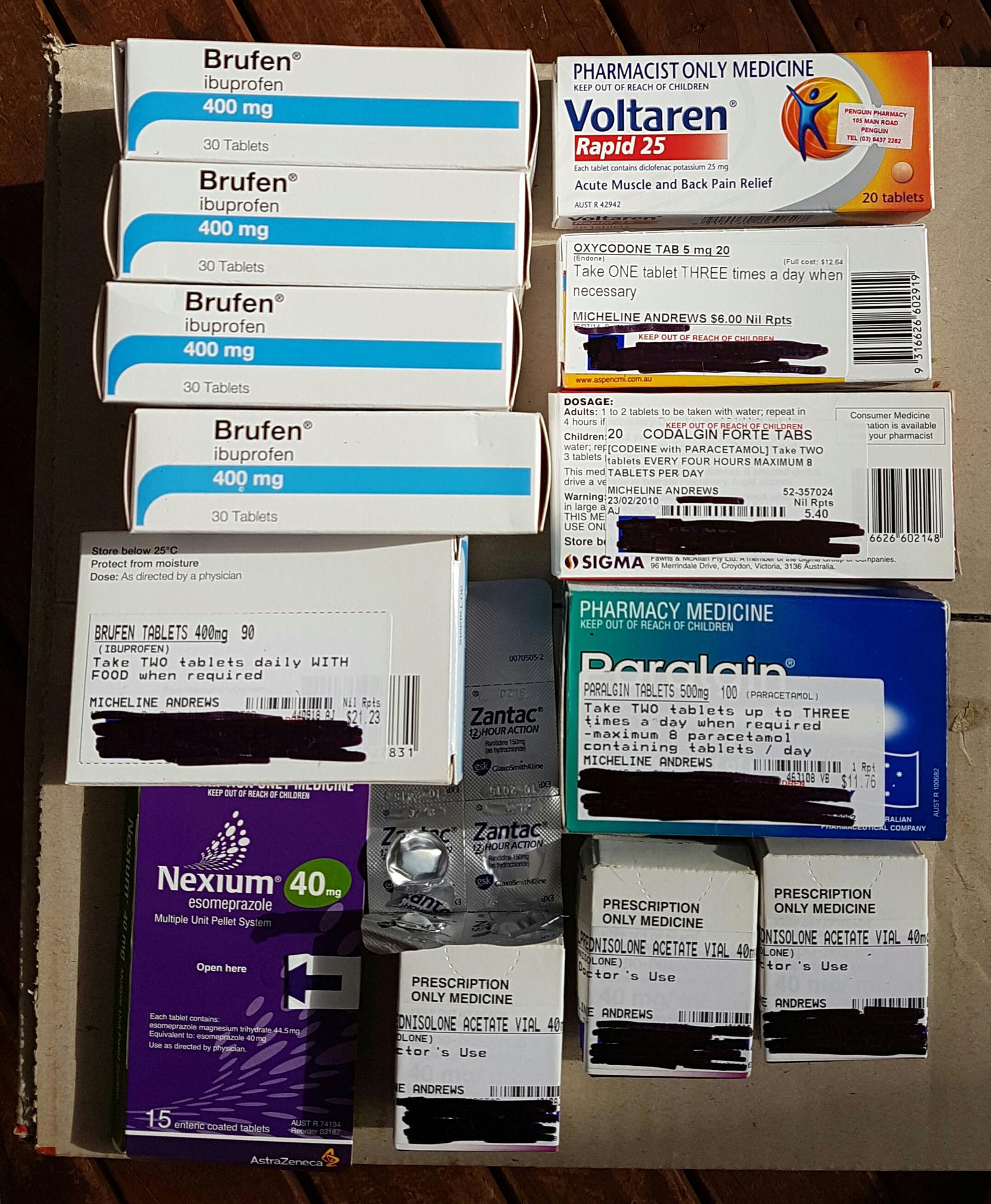 Decluttering my medication