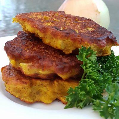 Onion Bhajis – with added bone broth!