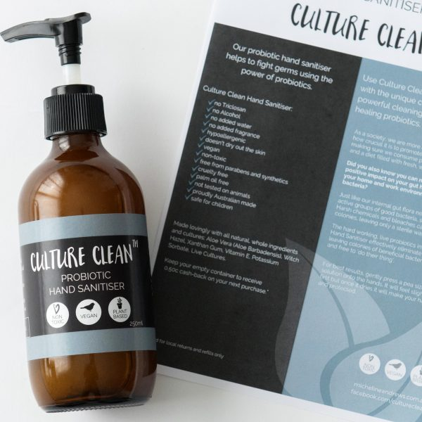 Culture Clean Probiotic Hand Sanitiser