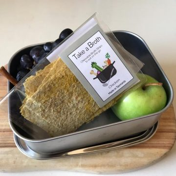 Bone Broth Strips Healthy Lunch Box