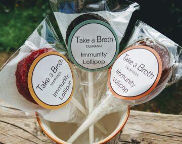 Immunity Bone Broth Lollipops