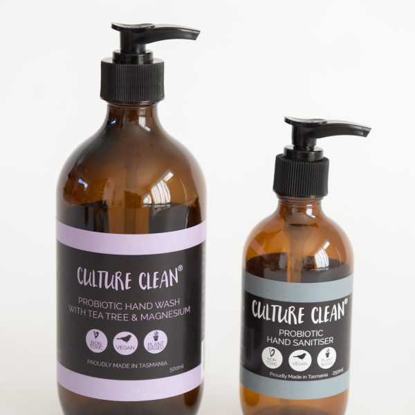 Culture Clean Probiotic Hand Wash and Sanitiser