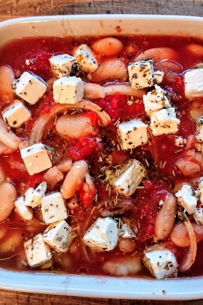 Butter Bean and Tomato Bake