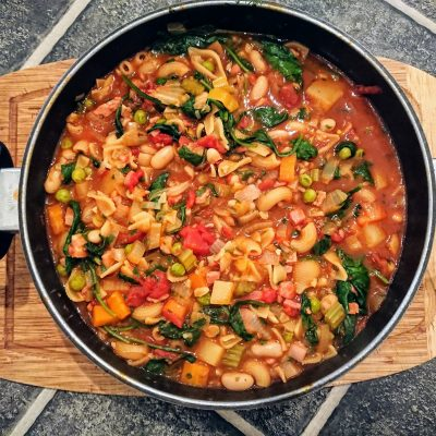Easy Minestrone with Bone Broth