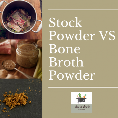 Stock Powder VS Bone Broth Powder