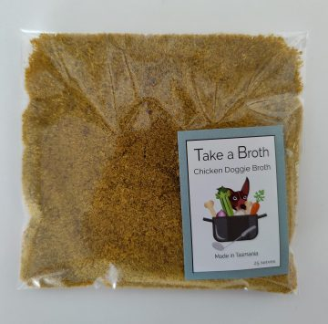Chicken Doggie Broth - Take a Broth Tasmania
