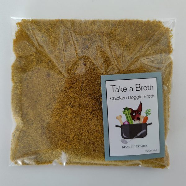 Chicken Doggie Broth - Take a Broth Tasmania